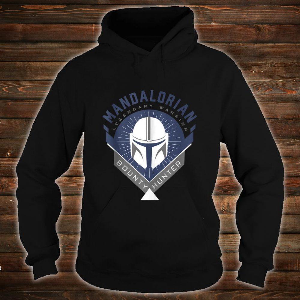 Star Wars The Mandalorian Legendary Warrior Crest Shirt hoodie