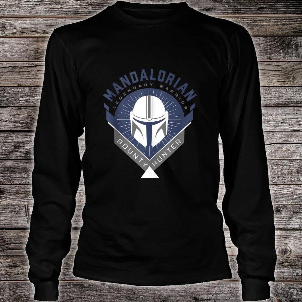 Star Wars The Mandalorian Legendary Warrior Crest Shirt long sleeved