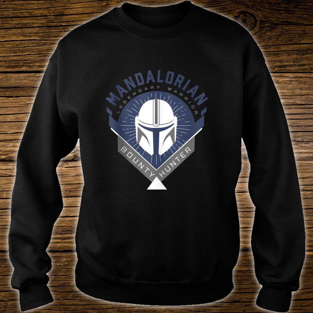 Star Wars The Mandalorian Legendary Warrior Crest Shirt sweater