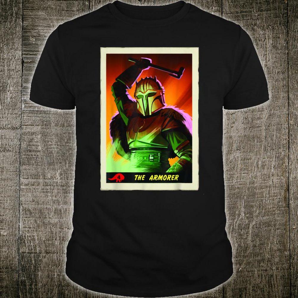 Star Wars The Mandalorian The Armorer Card Shirt