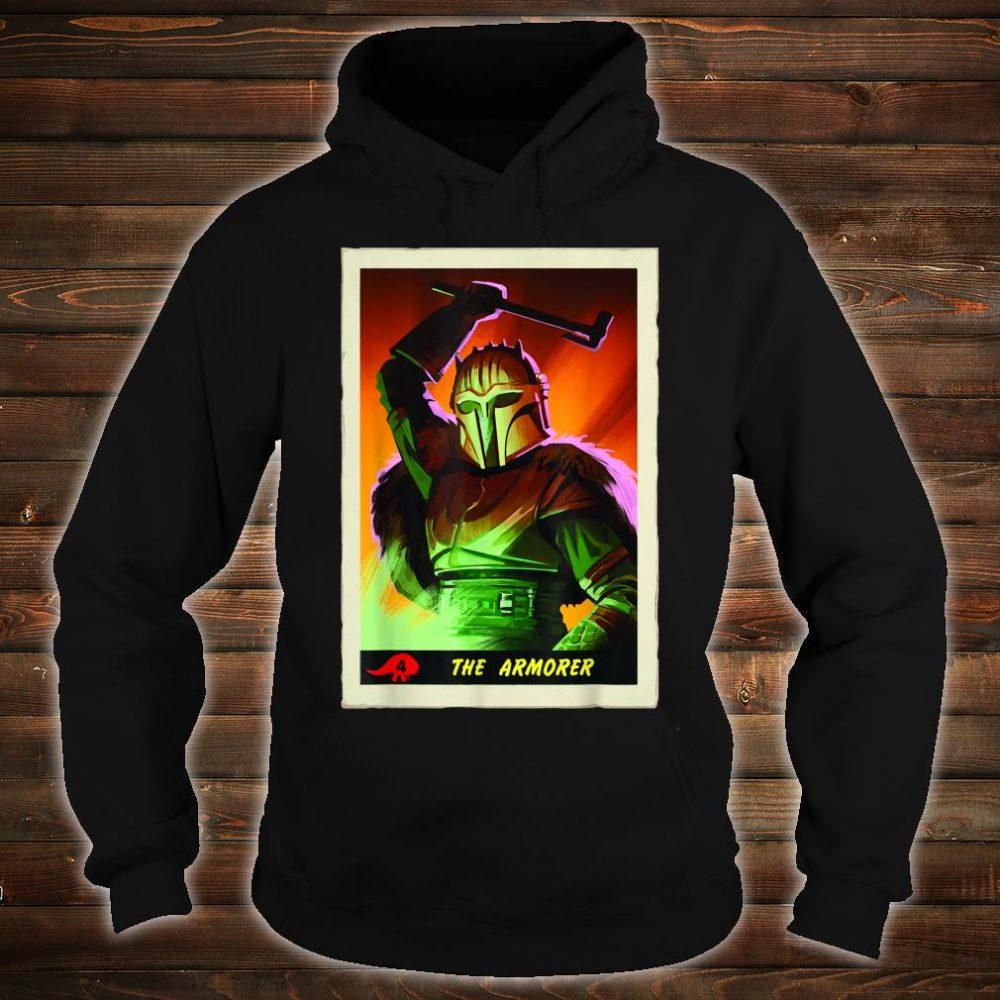 Star Wars The Mandalorian The Armorer Card Shirt hoodie