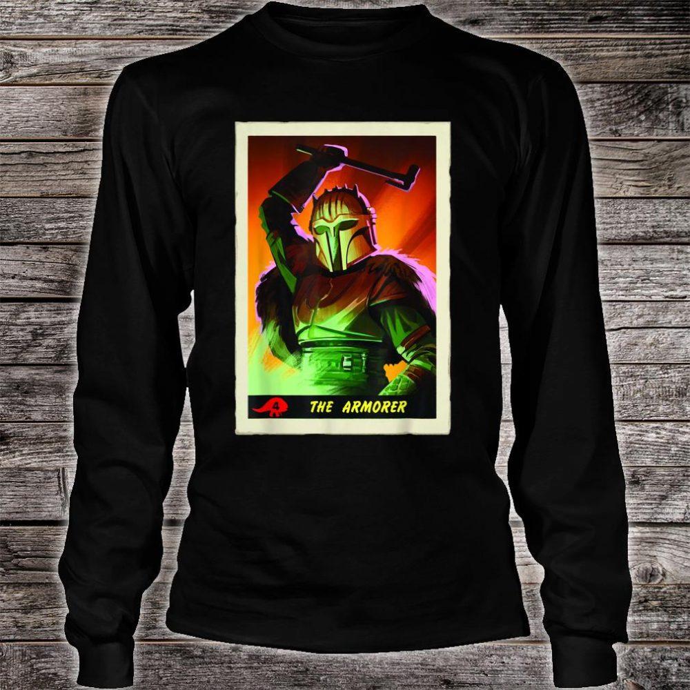 Star Wars The Mandalorian The Armorer Card Shirt long sleeved