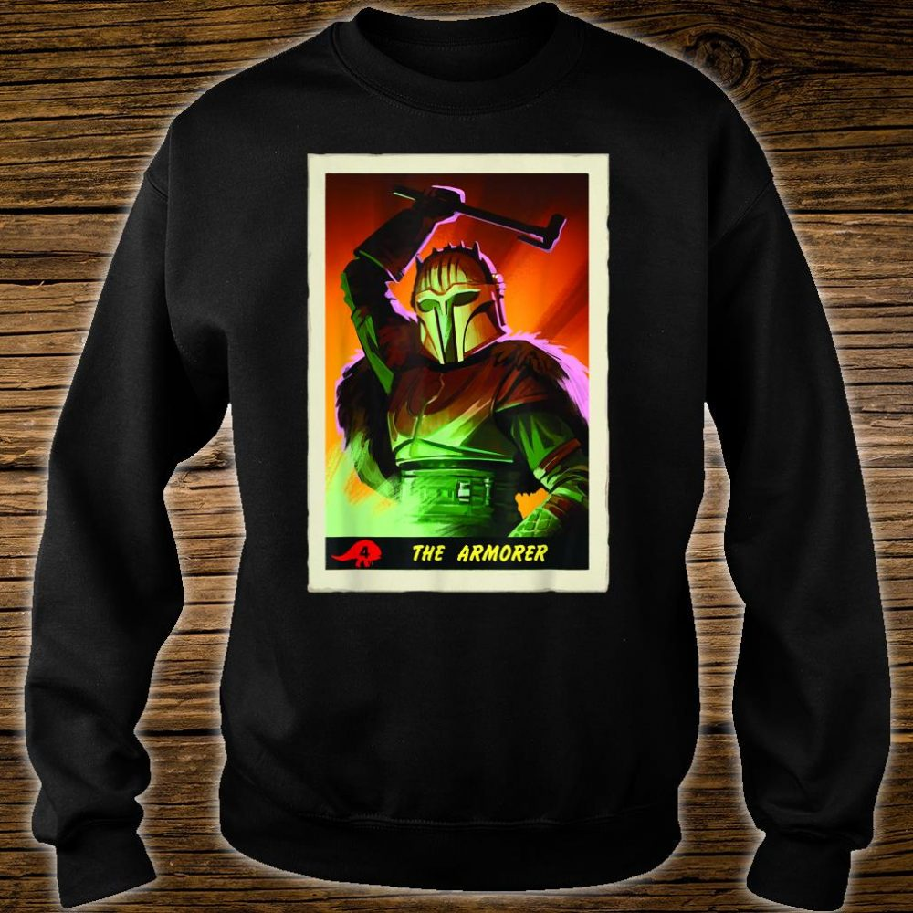 Star Wars The Mandalorian The Armorer Card Shirt sweater