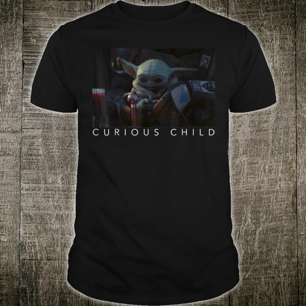Star Wars The Mandalorian The Child Curious Child Shirt