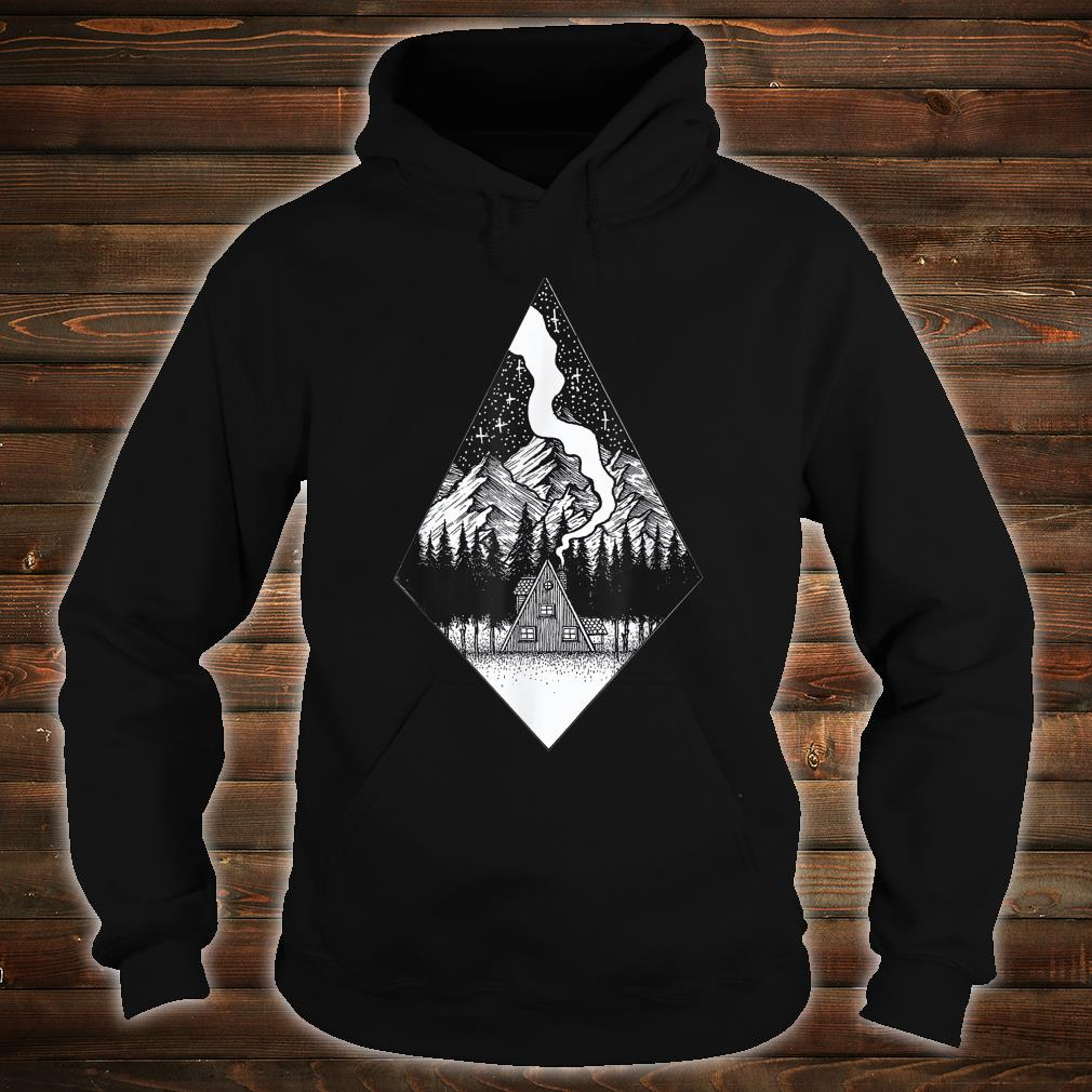 Starry Night Nature Camping Aesthetic Grunge Best Shirt hoodie