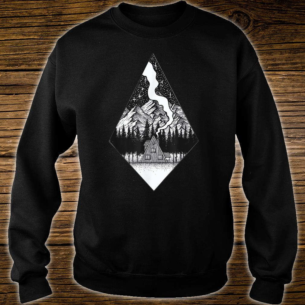 Starry Night Nature Camping Aesthetic Grunge Best Shirt sweater