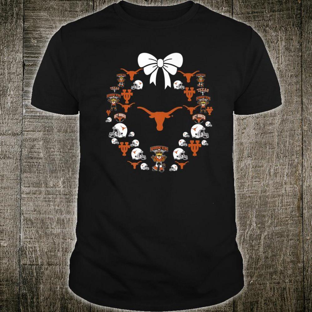 Texas Longhorns Football Pattern Apparel Shirt
