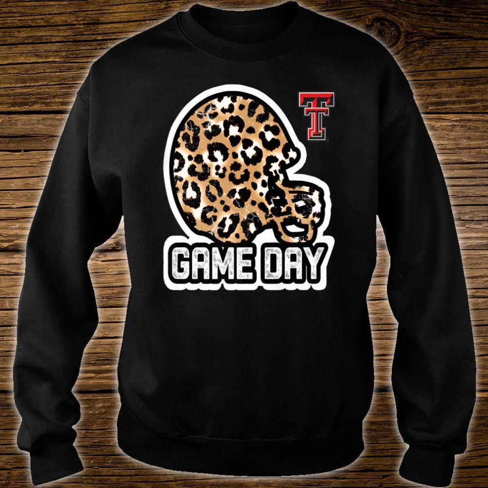 Texas Tech Red Raiders Game Day Helmet Leopard Shirt sweater