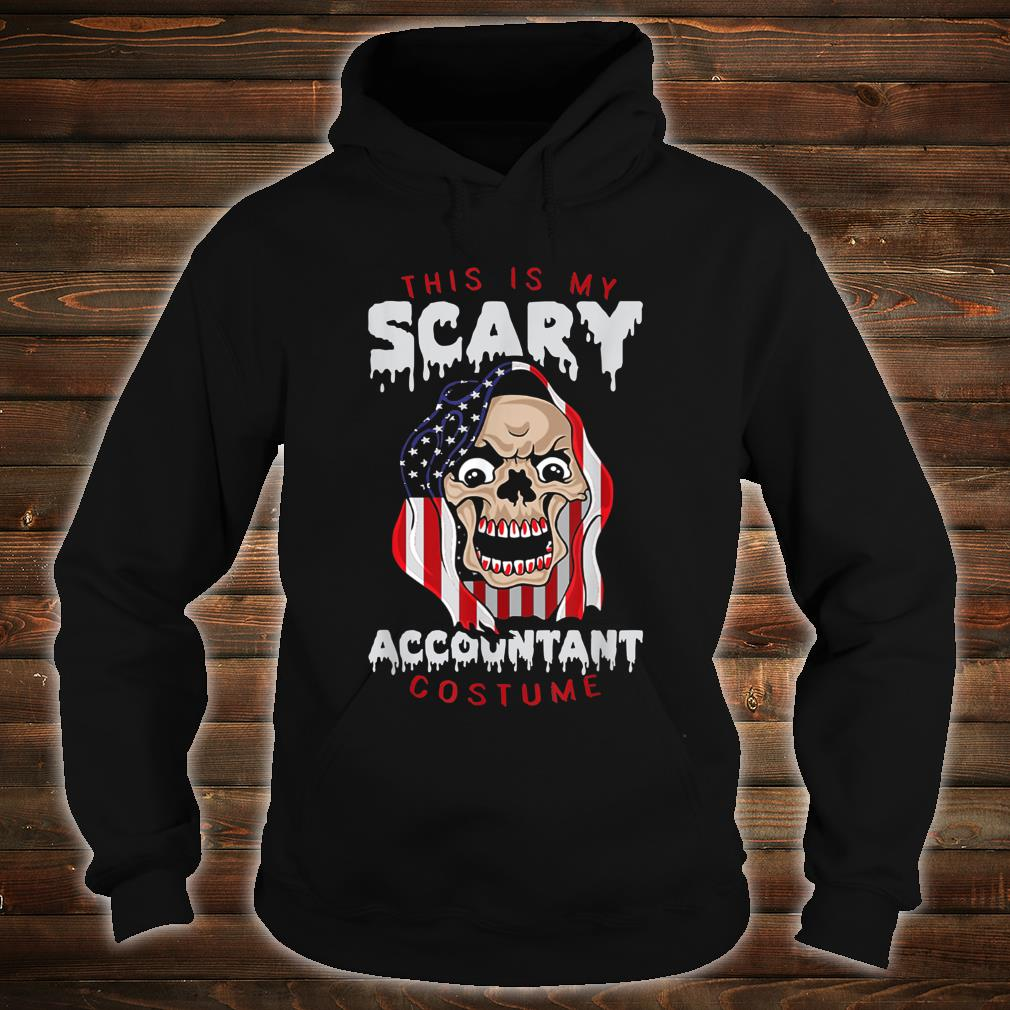 This Is My Scary Accountant Costume Halloween Shirt hoodie