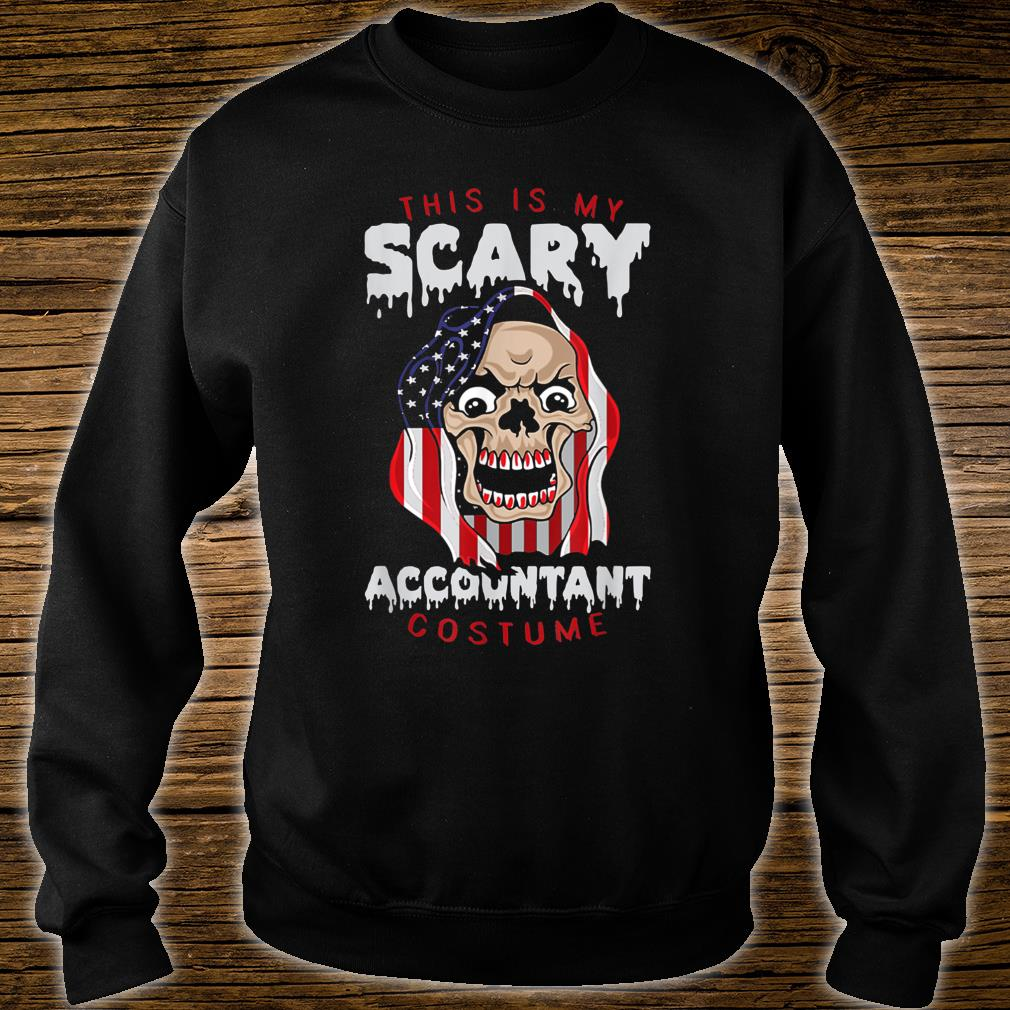 This Is My Scary Accountant Costume Halloween Shirt sweater