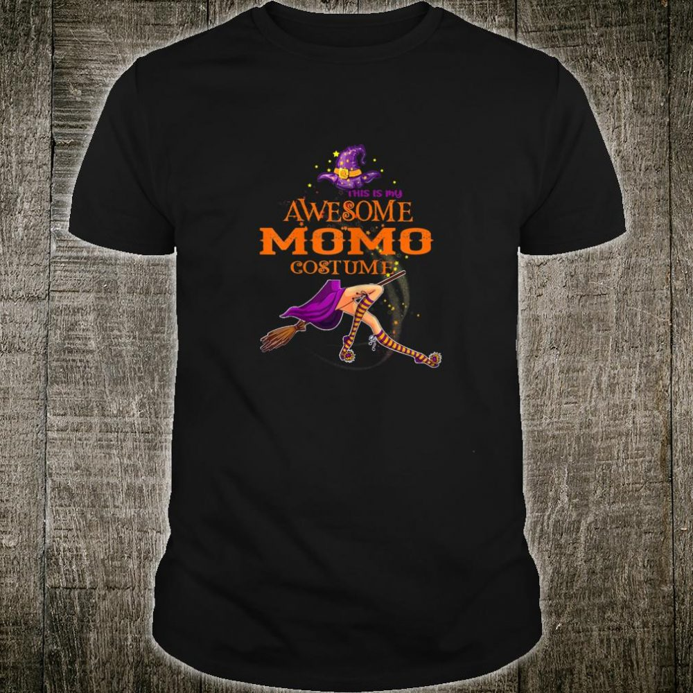 This is my awesome Momo costume Halloween Shirt