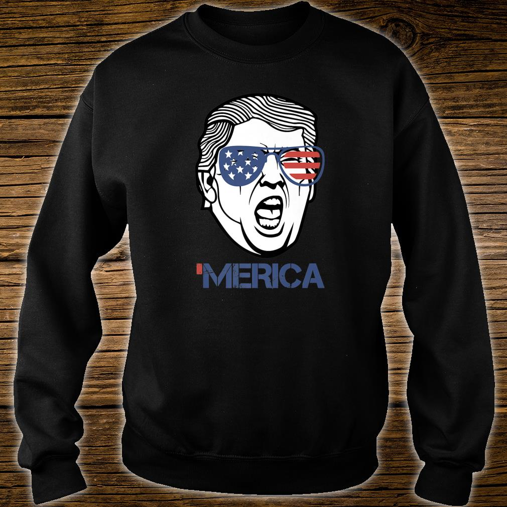 Trump Merica 4th of July Murica 'Merica Shirt sweater