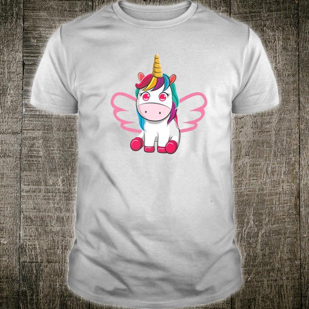 Unicorn with Wings Kawaii Japan Inspired Shirt