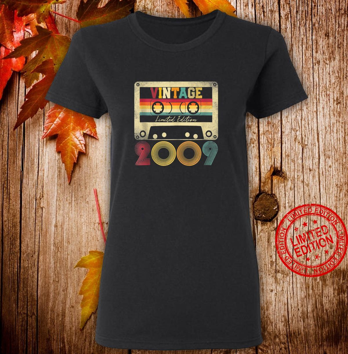 Vintage 2009 12th Birthday 12 Years Old Limited Edition Shirt ladies tee