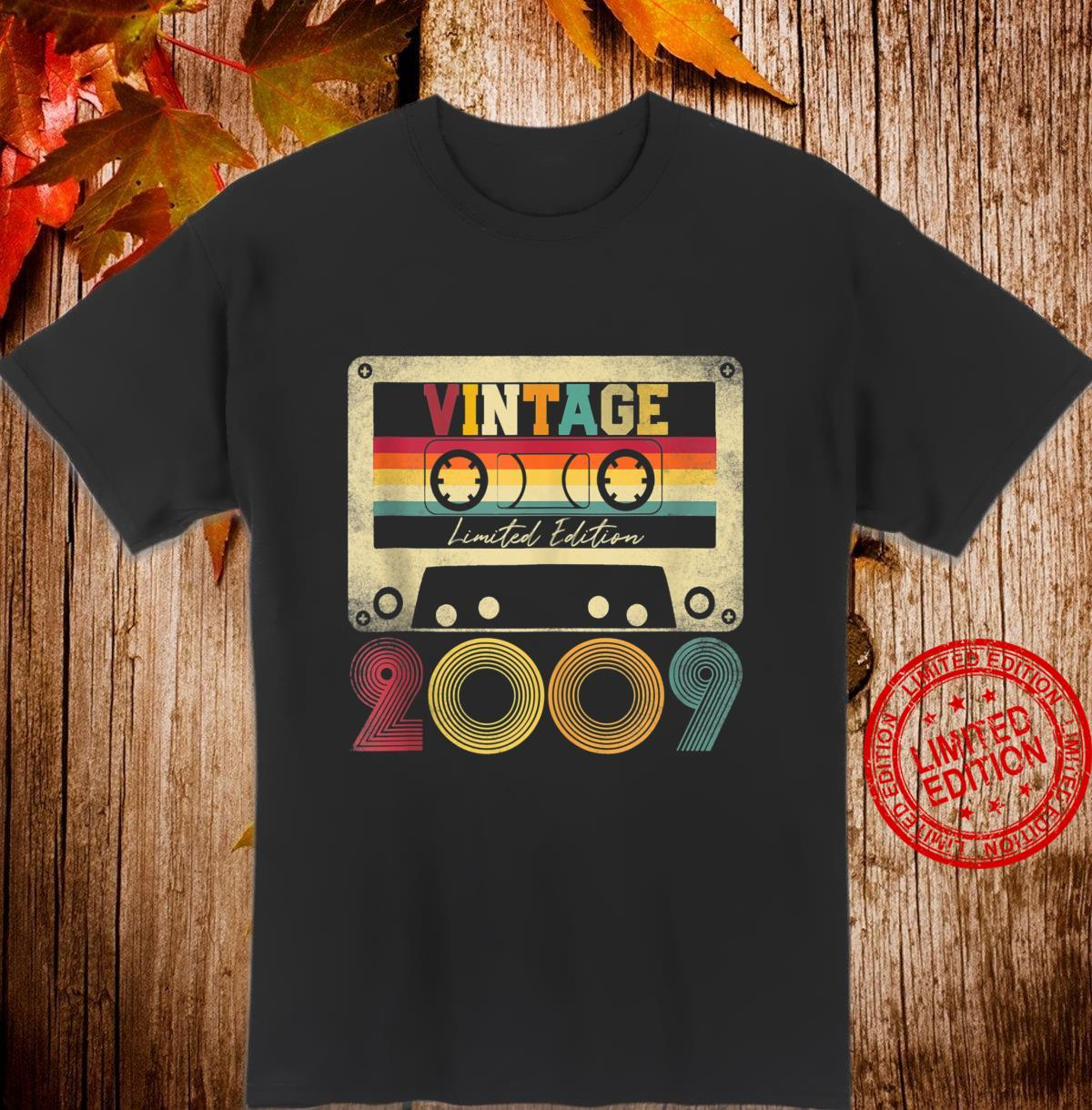 Vintage 2009 12th Birthday 12 Years Old Limited Edition Shirt