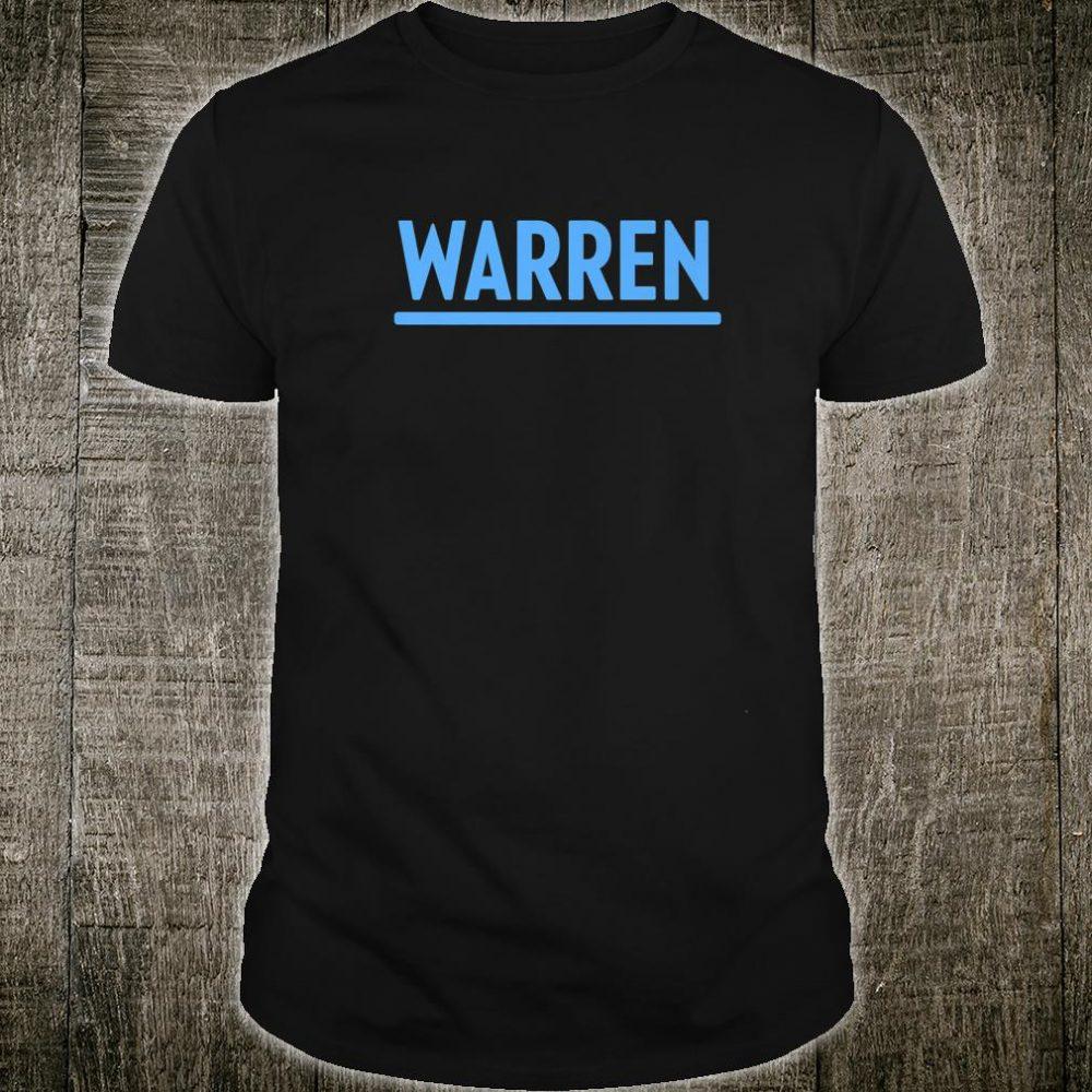 Warren Elizabeth Warren 2020 Shirt
