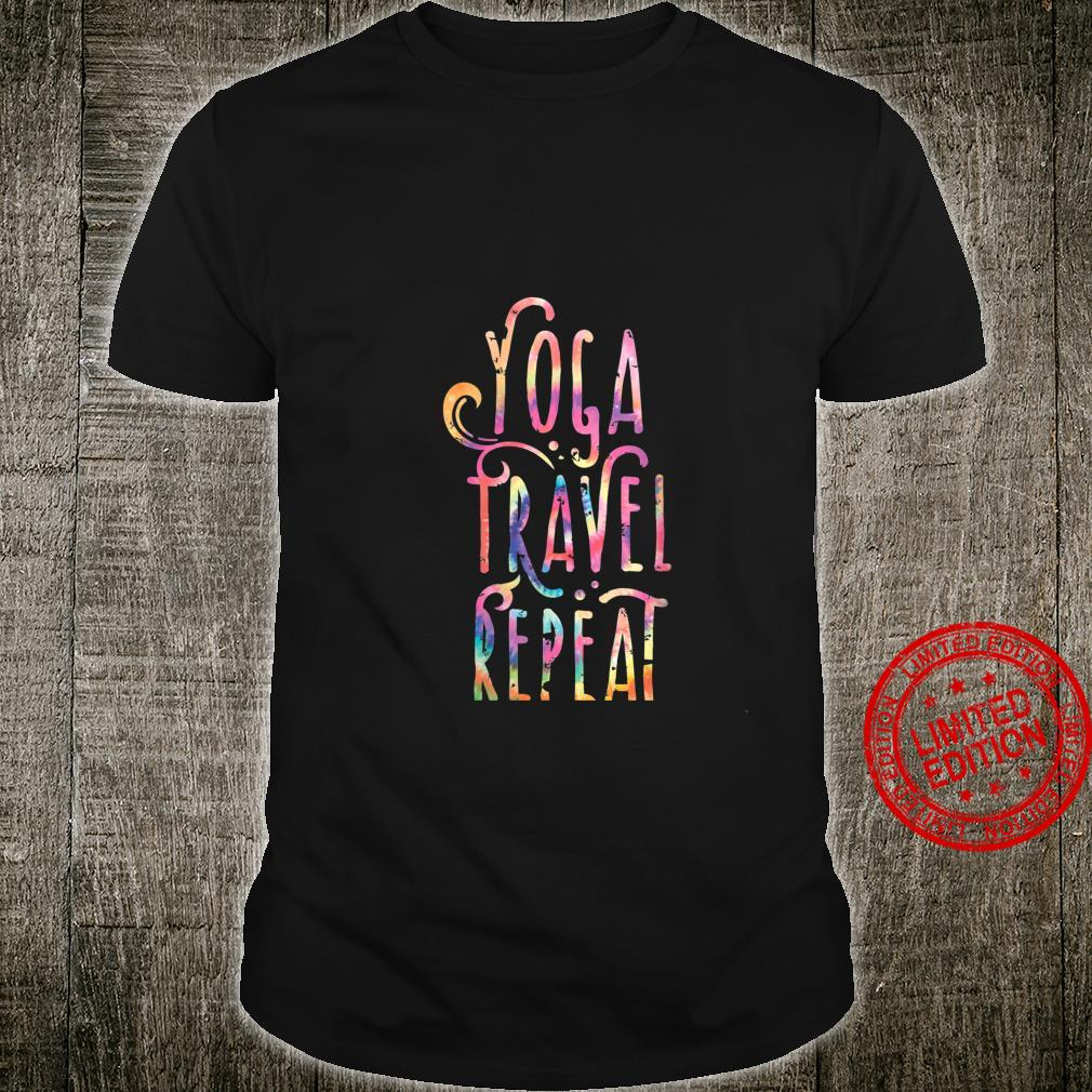 Womens Yoga Travel Pilates Yoga Vacation Shirt